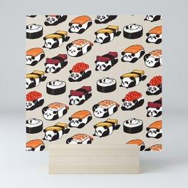 Sushi Panda Mini Art Print