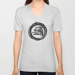 The Plague Is Coming Unisex V-Neck