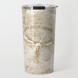 Sundance Pine, Tree ring print Travel Mug
