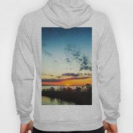 Gulf Coast Sunset Pano Hoody