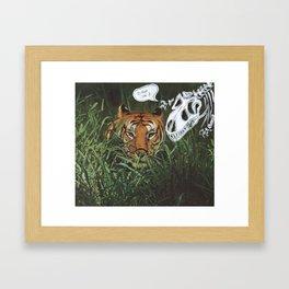 Eye of Framed Art Print