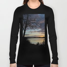 Lake Quinault Sunset, Washington Long Sleeve T-shirt