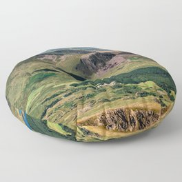 Snowdon Moutain View Floor Pillow