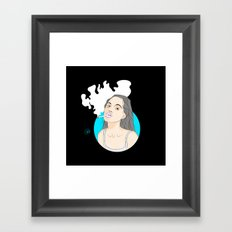 Angie Framed Art Print