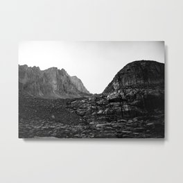 Granite Saddle Metal Print