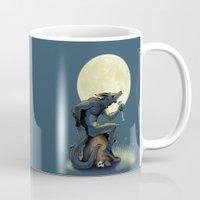 werewolf Mugs featuring Werewolf! by drubskin