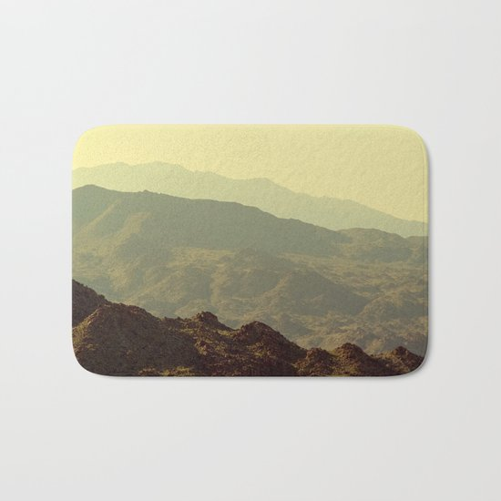 Palm Springs Mountains I Bath Mat
