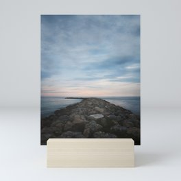 The Jetty at Sunset - Vertical Mini Art Print