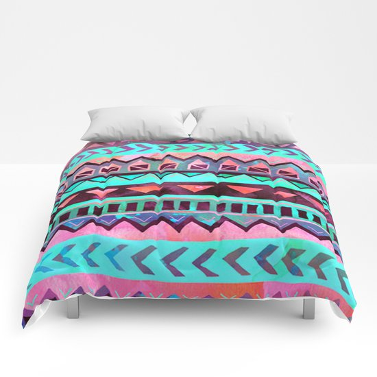 Tribal Pattern 05 Comforters