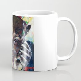 Reverie - Ethnic African portrait Coffee Mug