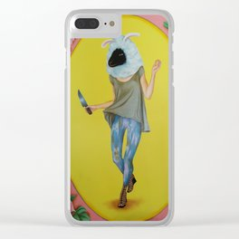 Oveja, Hard Candy series Clear iPhone Case