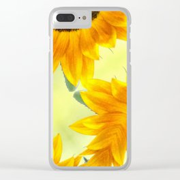 SUNFLOWER - PLAY Clear iPhone Case