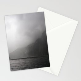 Foggy Milford Sound Stationery Cards