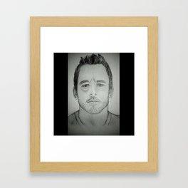 Chris Pratt Framed Art Print