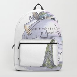 Don't watch me, please! Backpack