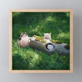 Their lög Framed Mini Art Print