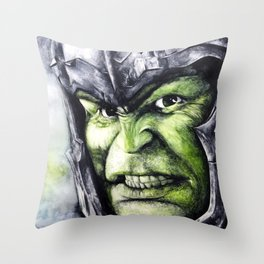 SMASH: The Hulk Throw Pillow