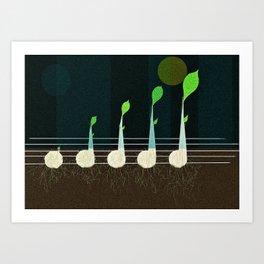 music seeds Art Print