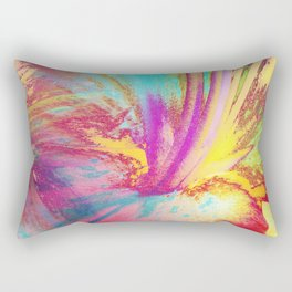 Lily Abstract Rectangular Pillow