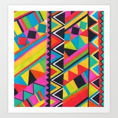 Kongo Art Print