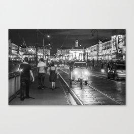 Modern vintage Canvas Print