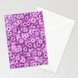 magenta daisy flowers Stationery Cards