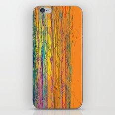 orange forest iPhone & iPod Skin
