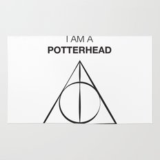 I am a Potterhead Rug
