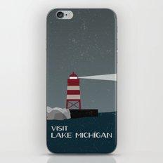 Visit Lake Michigan  iPhone & iPod Skin