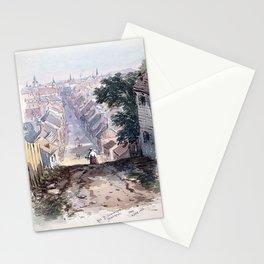 Frances Anne Hopkins - Saint Dominique Street, Montreal Stationery Cards