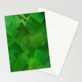 Cubed grass ... Stationery Cards