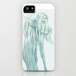 A Little Disheveled iPhone Case