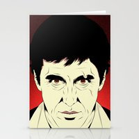 scarface Stationery Cards featuring Scarface by Renan Lacerda