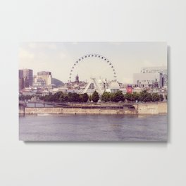 Big Wheel Metal Print
