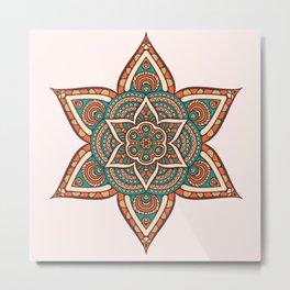 Decoration Star Metal Print