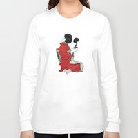 japan Long Sleeve T-shirts featuring JAPAN by Ivano Nazeri