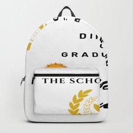 School of Life Graduation Diploma Backpack