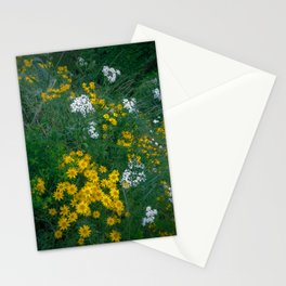 Flowers On the Edge Stationery Cards