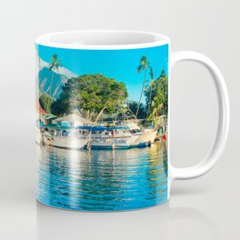 Lāhainā Marina Sunset Maui Hawaii Coffee Mug