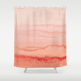 WITHIN THE TIDES - LIVING CORAL Shower Curtain