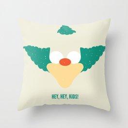 Hey, Hey, Kids! Throw Pillow