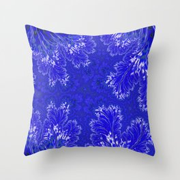 BluFan Filigree Throw Pillow