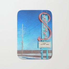 Vintage Neon Sign - Joyland Bath Mat