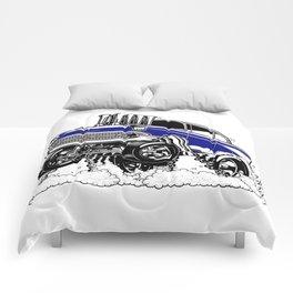 57 Gasser REV-3 BLUE Comforters