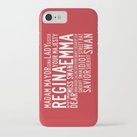 ouat iPhone & iPod Cases featuring Swan Queen Nicknames - Red (OUAT) by CLM Design