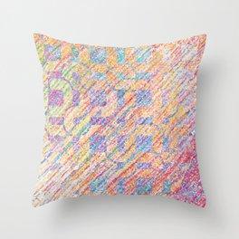 Delightful Spectrum x Orion Throw Pillow