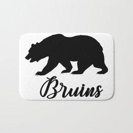 Bruins - Black bear Bath Mat