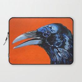 Orange Crow Laptop Sleeve