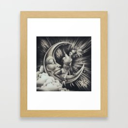 We're a Million Miles Away Framed Art Print