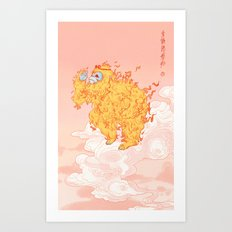 To Carry the Return of Spring Art Print